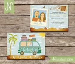 Invitaciones Cintia y Fran