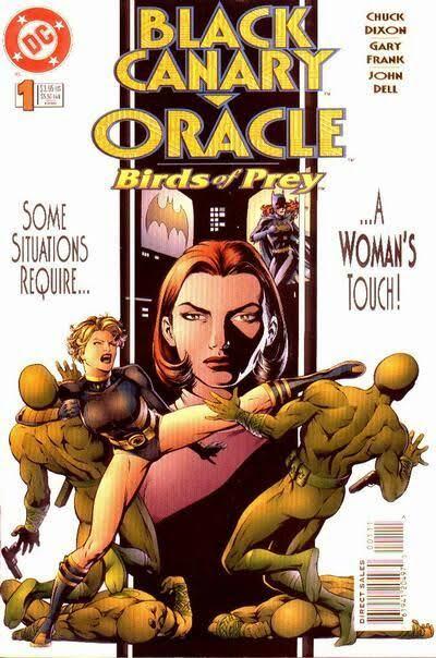 Black Canary/Oracle: Birds of Prey N°1 (noviembre de 1995)