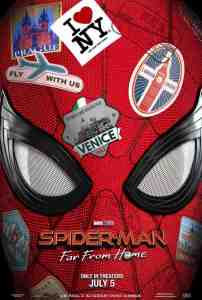 ¿Dónde toma lugar Spider-Man: Far From Home? 1