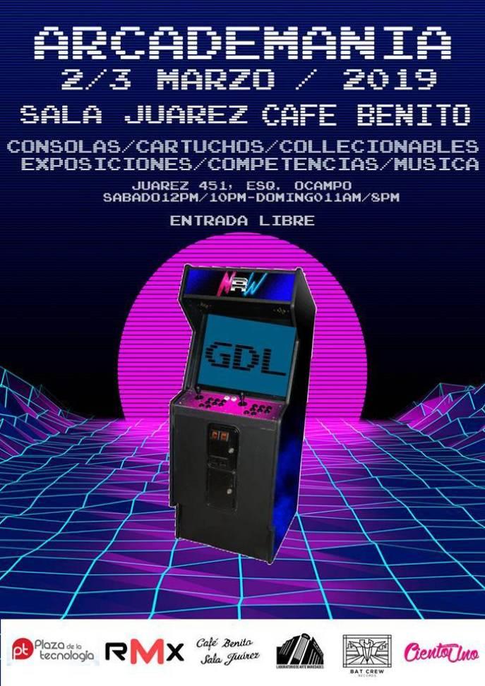 #ArcademaniaGDL algo más que un festival retro ? 1