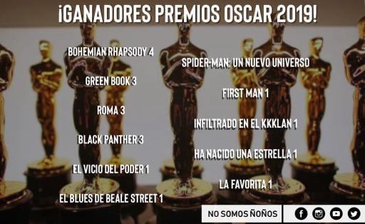 Los cinco momentos que marcaron los Oscar 2019 ? 1