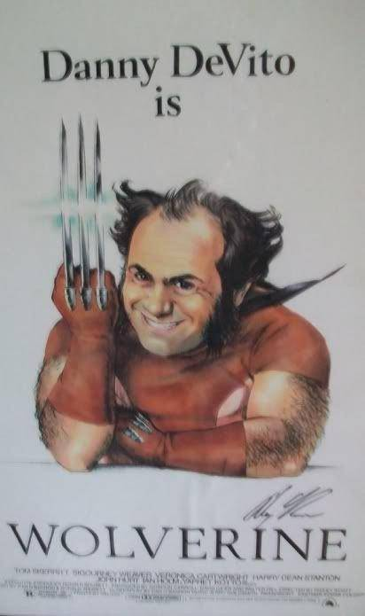 """Alex Ross imagina a Danny """"Wolverine"""" DeVito"""