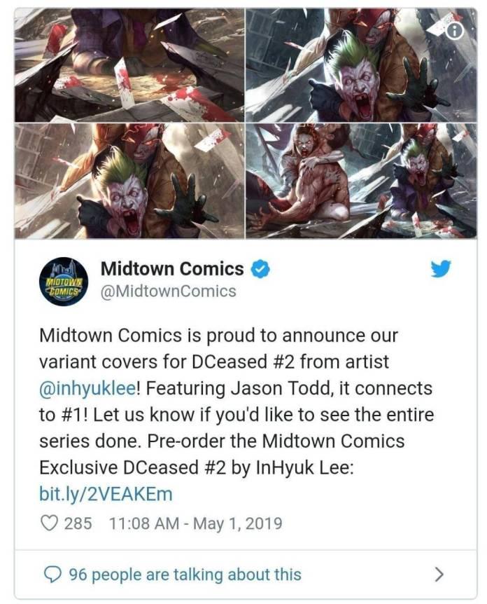 Twitter: Midtown Comics