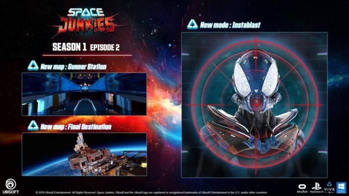 Conoce el segundo DLC de Space Junkies 1