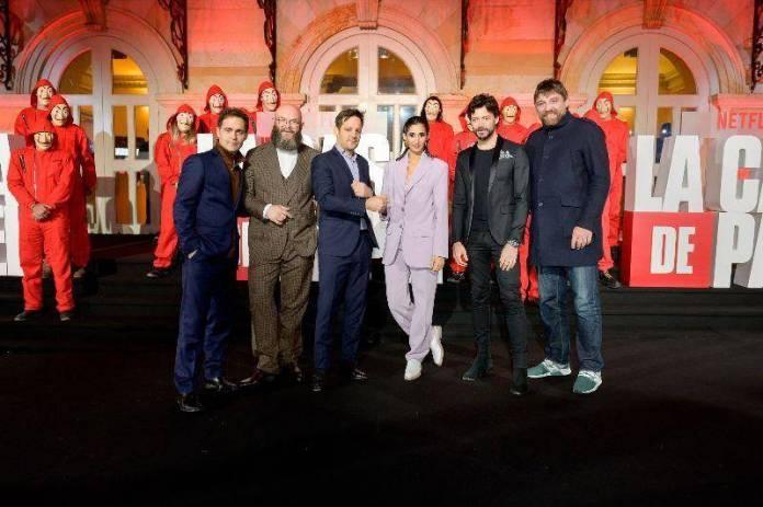 """El elenco de """"La Casa de Papel"""" llega a Bogotá 1"""