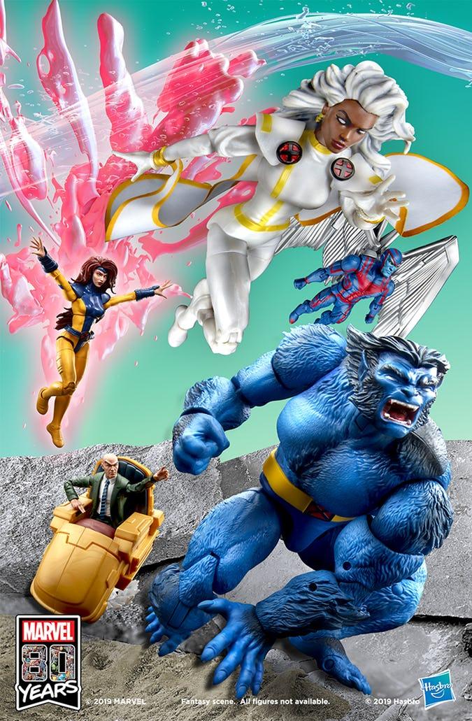 #SDCC2019 Hasbro recrea la portada X-Men # 1 de Jim Lee 3