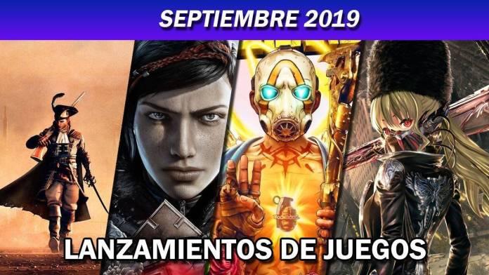 Estrenos videojuegos: Septiembre 2019 1