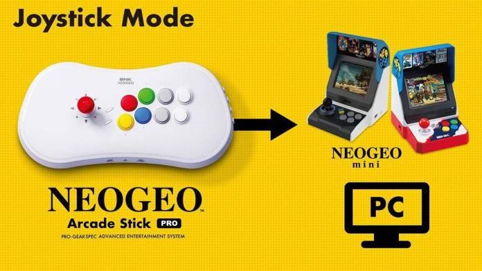 NEO GEO Arcade Stick Pro tendrá 20 juegos de SNK preinstalados 3