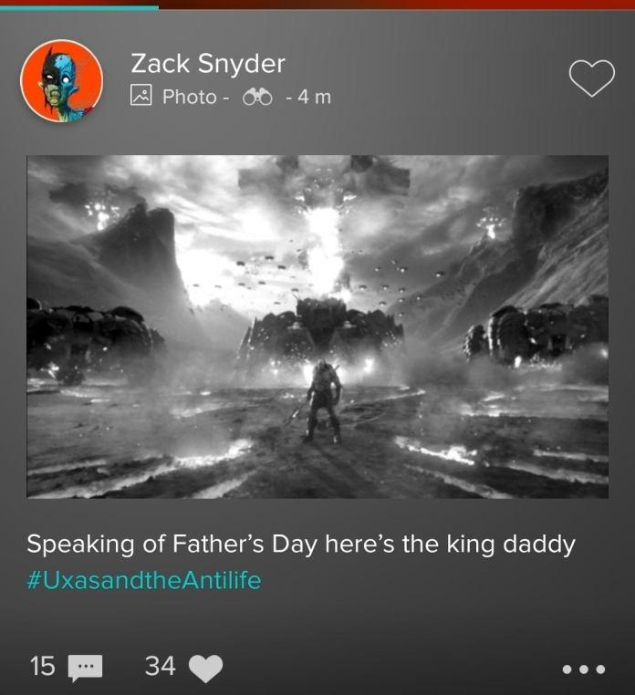 Darkseid, Justice League, Snyder Cut