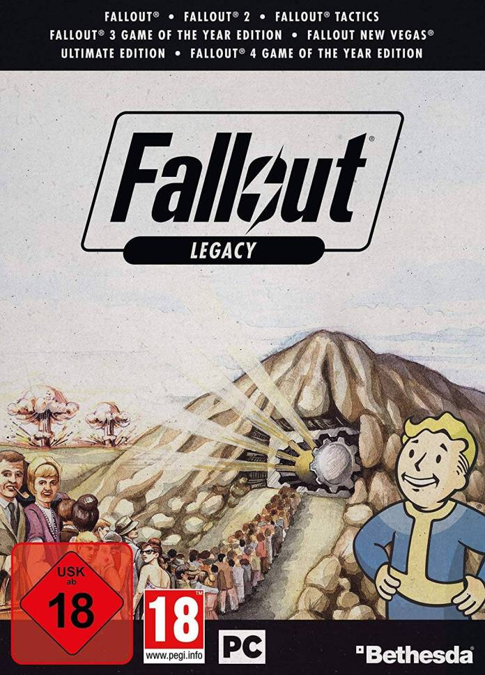 Fallout Legacy Collection (Póster)