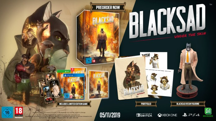 Blacksad Under The Skin estrena vídeo en español 2
