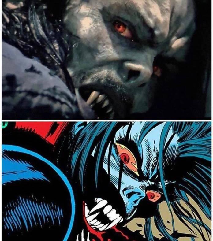 Primer avance de Morbius, el vampiro 1
