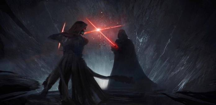 Star Wars: Colin Trevorrow confirma el arte filtrado de 'Duel of Fates' 7