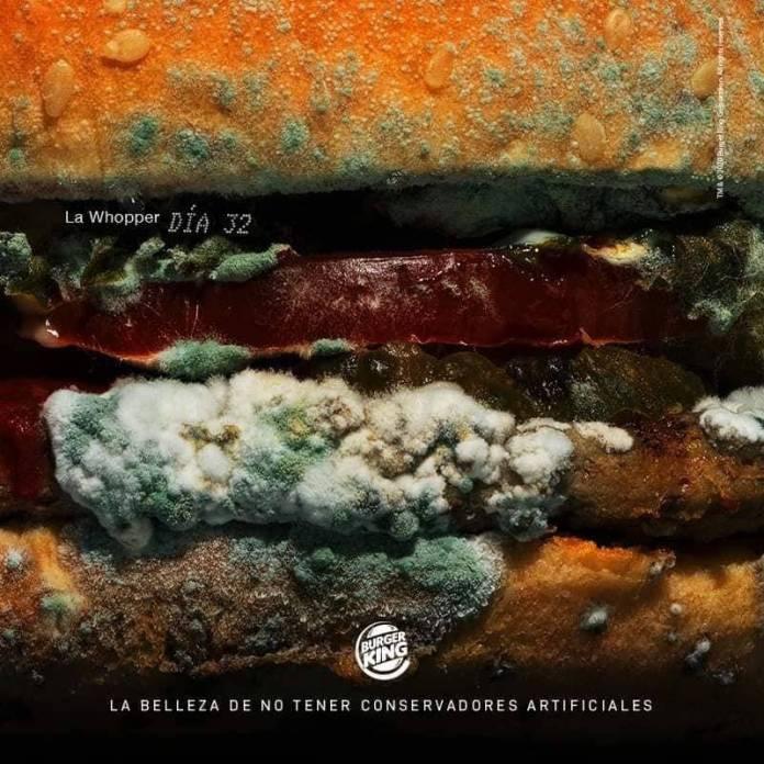 Hamburguesa podrida: La nueva publicidad de Burger King 2