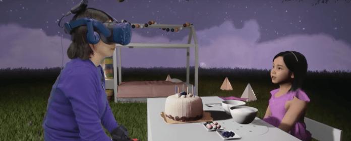 Madre se reencuentra con su hija fallecida en realidad virtual 1