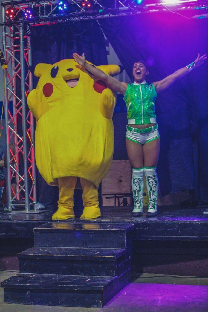 Pikachu Wrestling