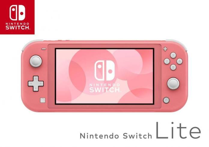 Se anuncia el nuevo Nintendo Switch Lite Coral 1