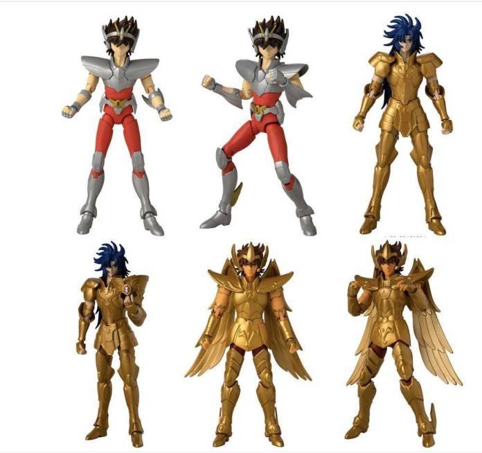 Bandai lanzará nuevas figuras de 'Saint Seiya' 1