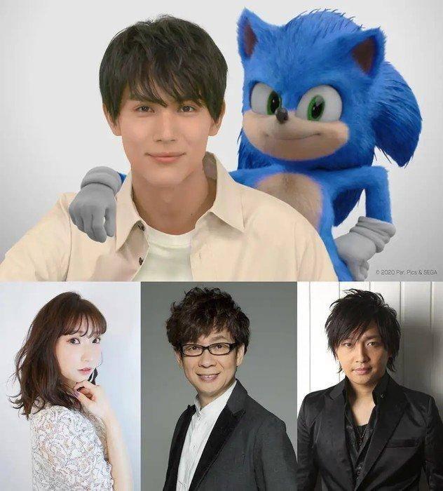 Sonic the Hedgehog elenco