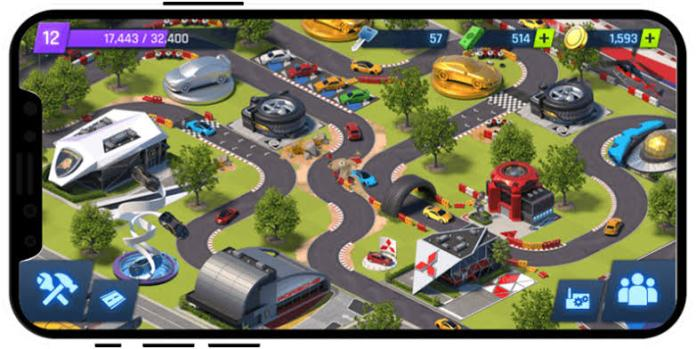 Overdrive City , derrapando a las tiendas móviles 1