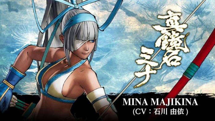 Mina Majikina Samurai Shodown