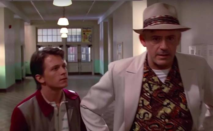 Tom Holland y Back To The Future