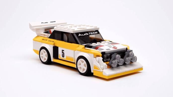 Lego Audi Quattro S1 (Michèle Mouton)