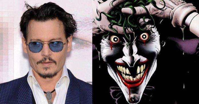 Rumor: Johnny Depp es considerado como el Joker de la trilogía de 'The Batman' 1