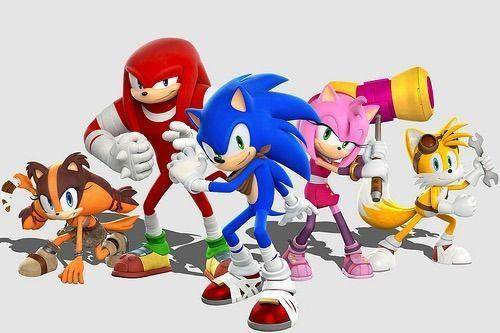 Sonic, Knucles y amigos