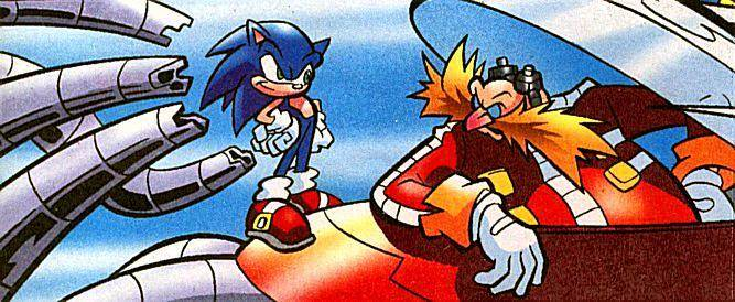 Sonic vs Robotnik (Knuckles)