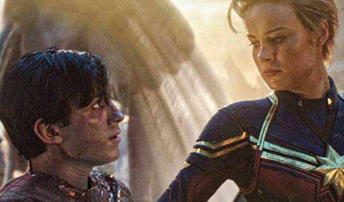 (Brie Larson) Capitana Marvel & Spider-Man