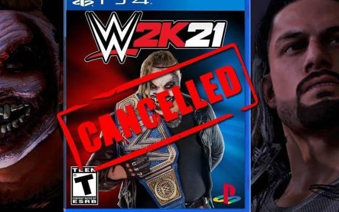 WWE 2K21 Cancelado