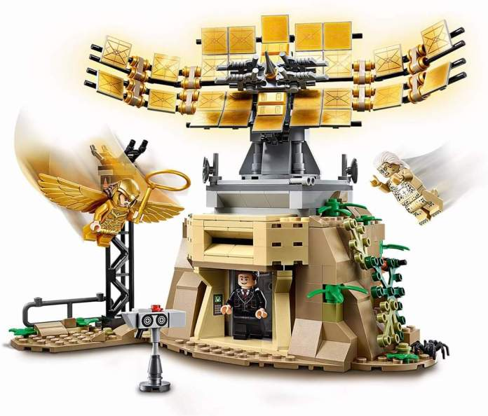 El set LEGO de 'Wonder Woman 84' filtra el look final de Cheetah 2