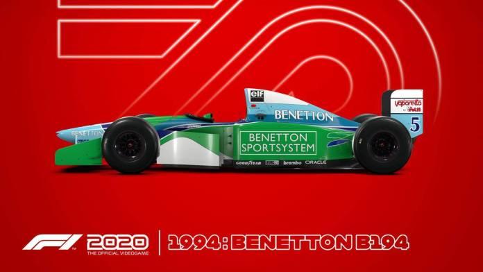 F1 2020 llegará en Julio a PS4, Xbox One y PC 1