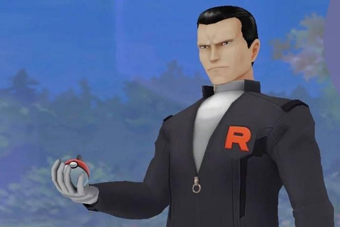 Pokémon Go Giovanni (Equipo Rocket)