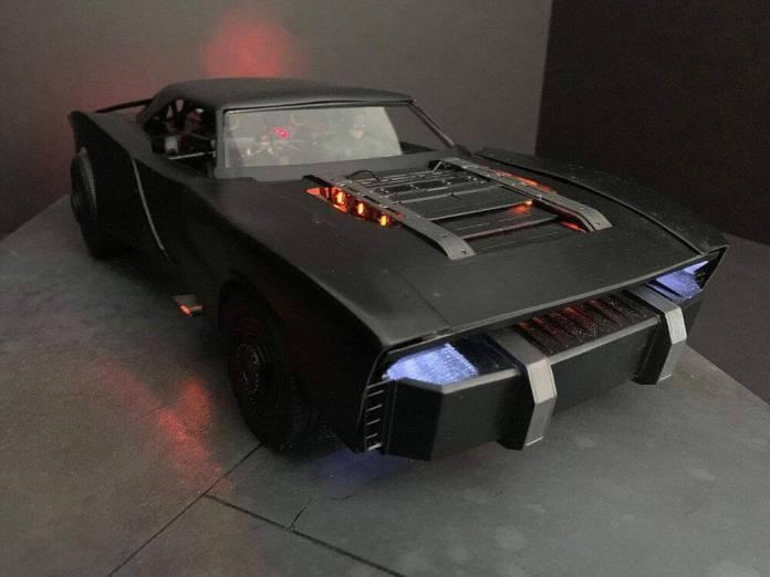 The Batman: Mira el arte conceptual del nuevo Batimóvil 2