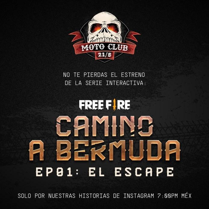 free fire camino a bermuda