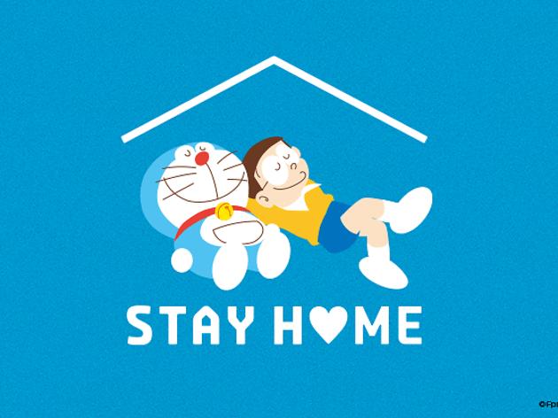 Doraemon Stay Home