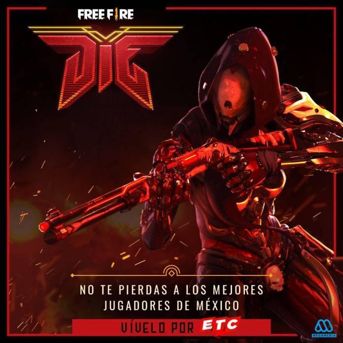 free fire television chilena