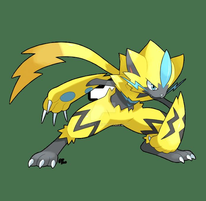 Zeraora, el pokémon mítico de Sol y luna