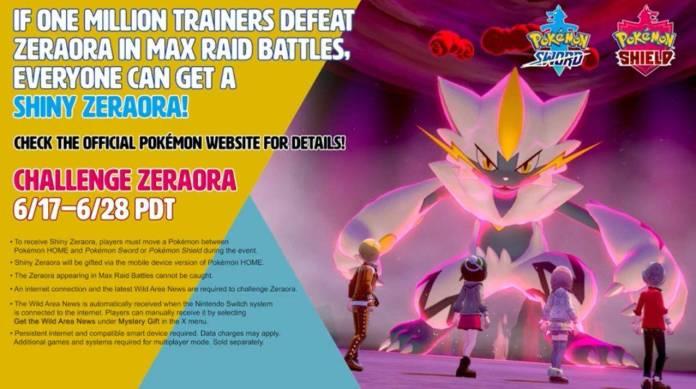 Pokémon Sword/Shield: ¡Obten un Zeraora shiny! 1