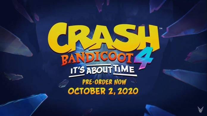 crash bandicoot 4 fecha
