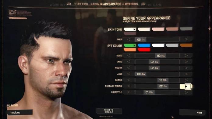 Cyberpunk 2077 tendrá un exagerado modo de personalización 1