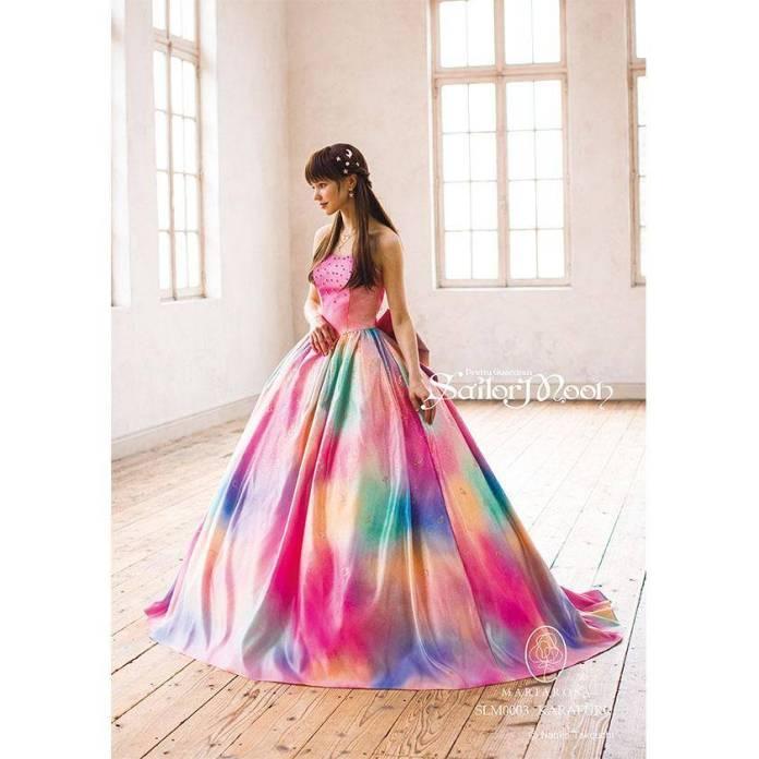 Mira estos increíbles vestidos de novia inspirados en Sailor Moon 4