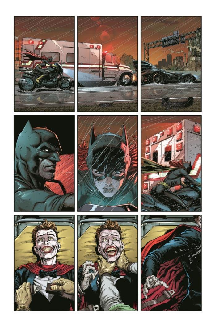 #ComicConAtHome: Primer vistazo de Batman - Three Jokers 6