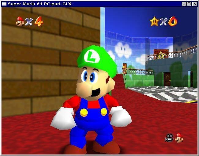 ¡Mamma mia! ¡Luigi si era elegible en Super Mario 64! 4