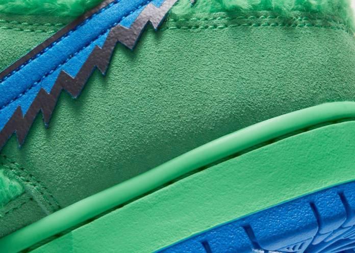 Conoce los 3 modelos de tenis de Grateful Dead x Nike con una bolsa oculta (¿Para marihuana?) 11