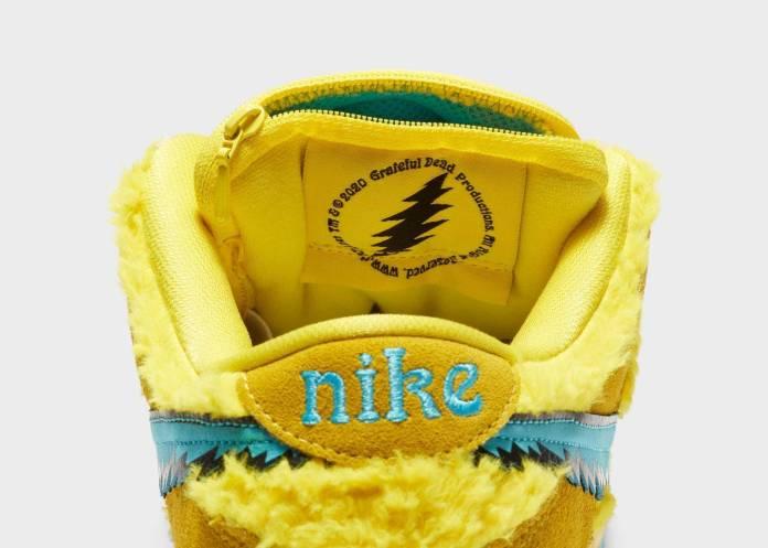 Conoce los 3 modelos de tenis de Grateful Dead x Nike con una bolsa oculta (¿Para marihuana?) 24