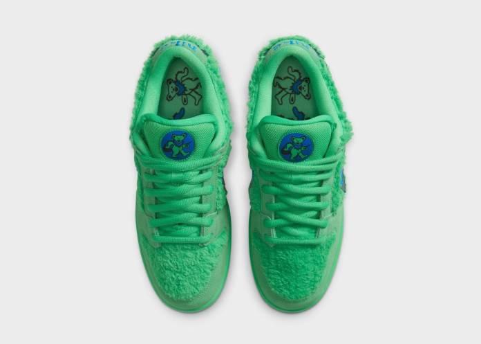 Conoce los 3 modelos de tenis de Grateful Dead x Nike con una bolsa oculta (¿Para marihuana?) 7