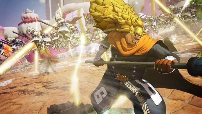 Vinsmoke Judge se muestra en nuevo vídeo de One Piece: Pirate Warriors 4 1